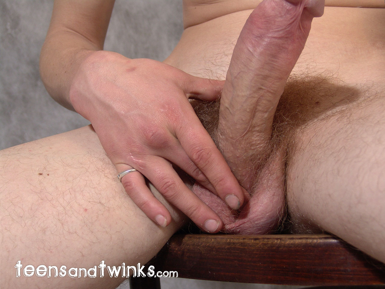 Cock to cock masturbation video