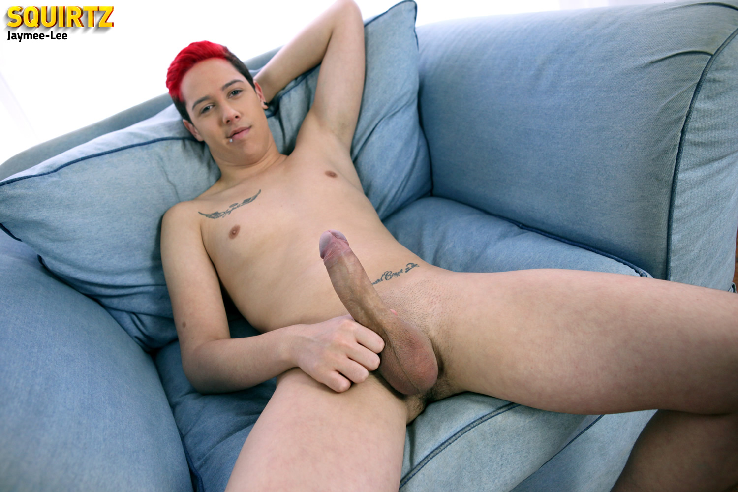 Squirtz-Jaymee-Lee-Twink-Jerking-Off-Massive-Uncut-Cock-Amateur-Gay-Porn-06 Amateur Florida Twink Jaymee-Lee Jerking His Massive Uncut Cock