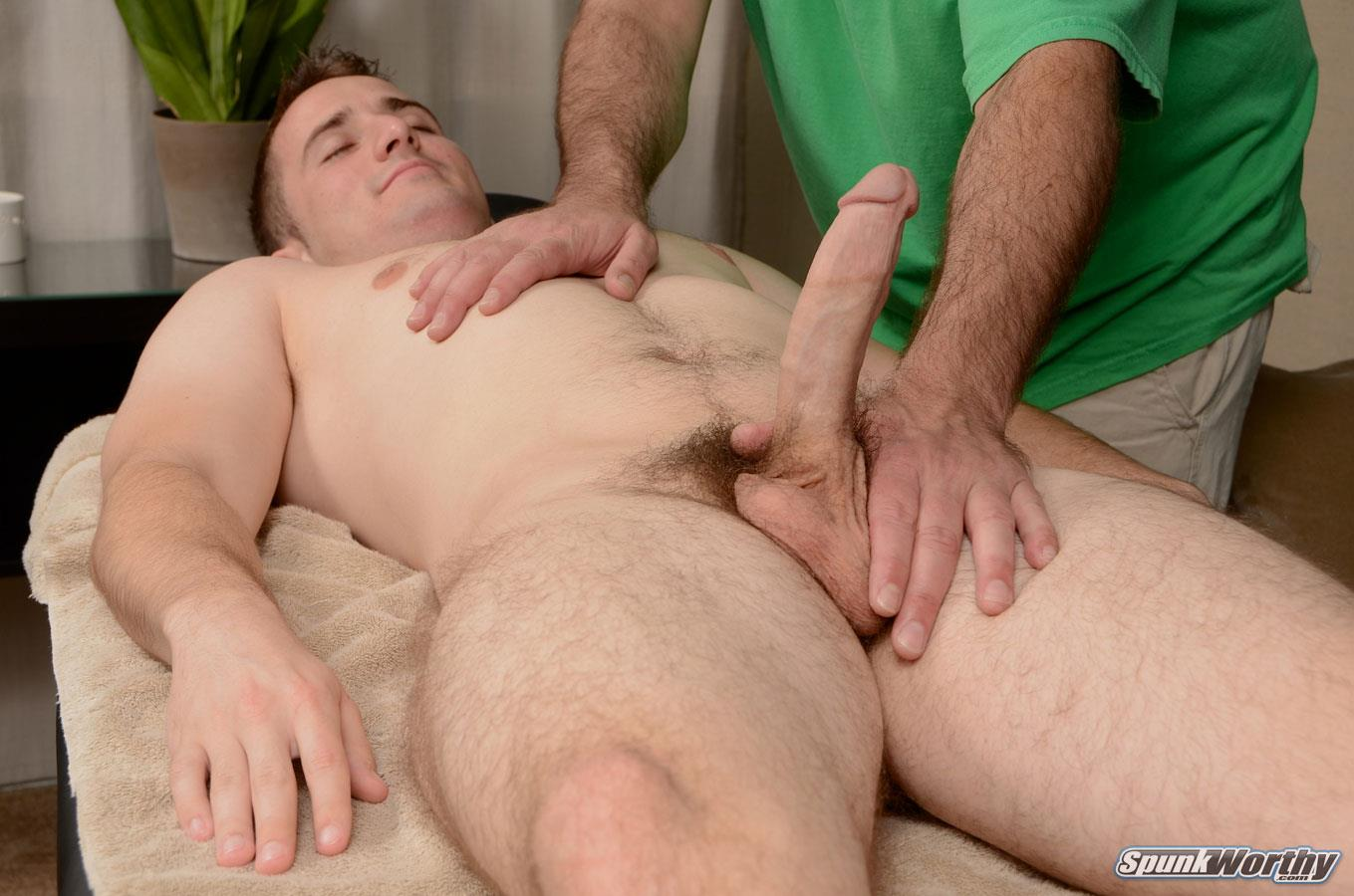 SpunkWorthy-Jordan-Staight-College-Baseball-Player-Getting-Blowjob-from-a-Guy-Amateur-Gay-Porn-11 Straight College Baseball Player Gets A Massage And Happy Ending From A Guy