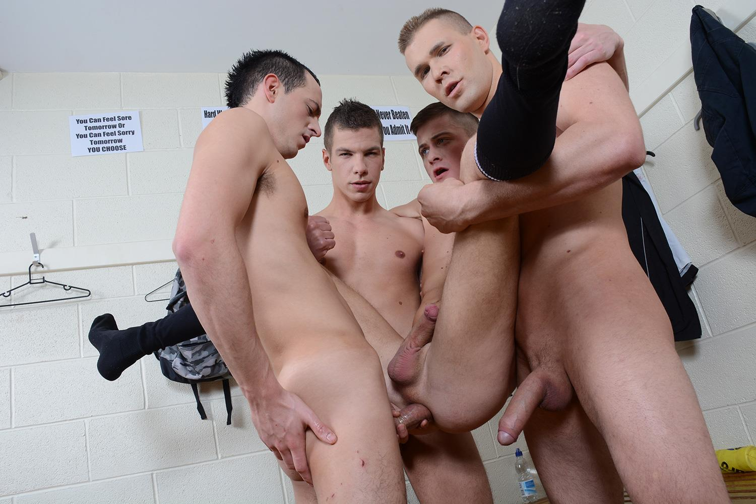 Staxus-Sportladz-Jordan-Fox-and-Luke-Desmond-and-Paul-Walker-and-Skylar-Blu-Amateur-Gay-Porn-11 World Cup Fever: Uncut Soccer Players Fucking In The Locker Room