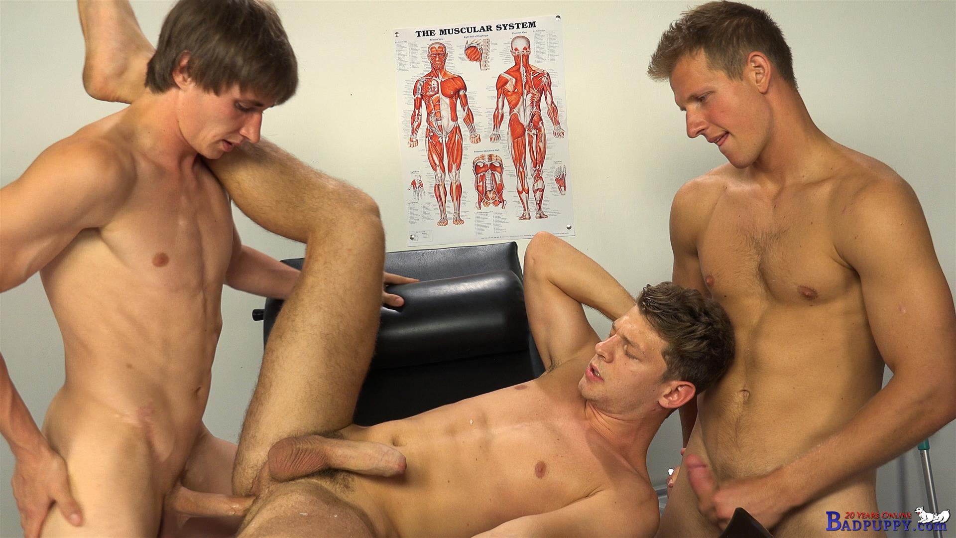 Horny male doctors gay first time taking 7