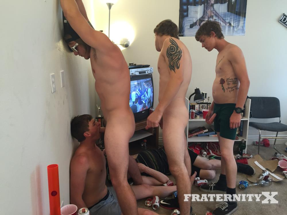 Fraternity-X-College-Frat-Guys-Naked-and-Fucking-Bareback-Amateur-Gay-Porn-28 Drunk Frat Guys Getting Stoned and Barebacking A Freshman Pledge