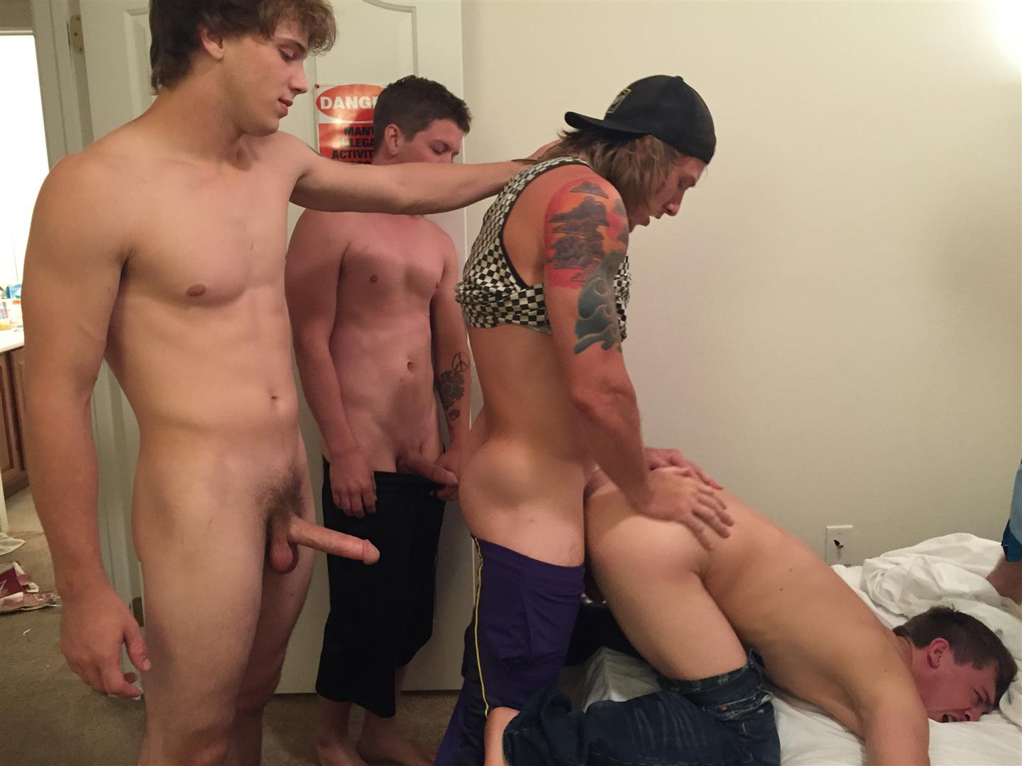 Male college porn